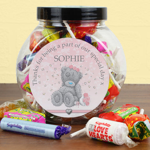 Buy Personalised Me To You Girls Wedding Sweet Jar
