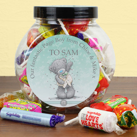 Personalised Me To You Male Wedding Sweets | ShaneToddGifts.co.uk