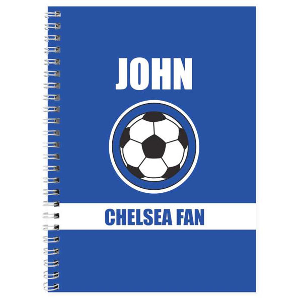 personalised-dark-blue-football-fan-a5-notebook