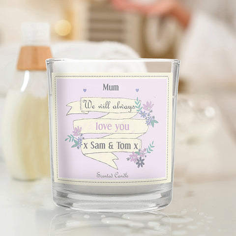 Garden Bloom Scented Jar Candle | ShaneToddGifts.co.uk