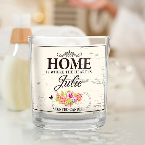 Buy Shabby Chic Scented Jar Candle