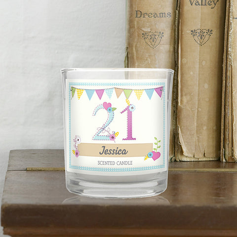 Birthday Craft Scented Jar Candle | ShaneToddGifts.co.uk