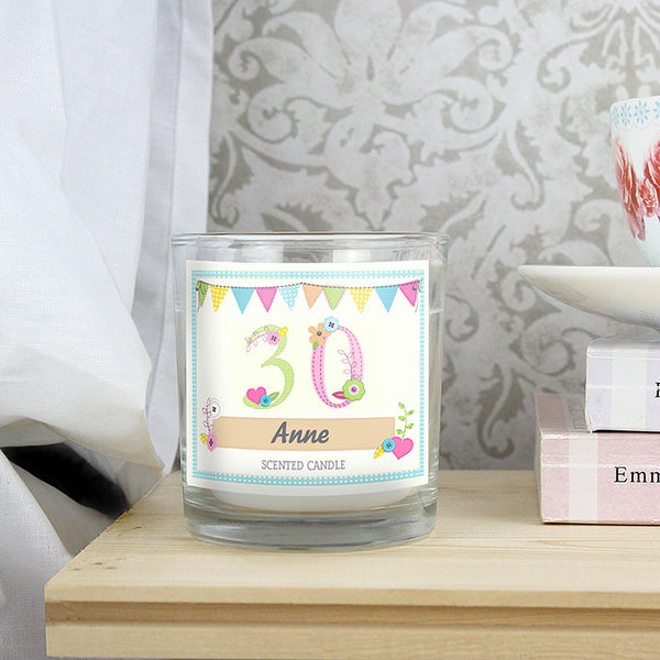 personalised-birthday-craft-scented-jar-candle
