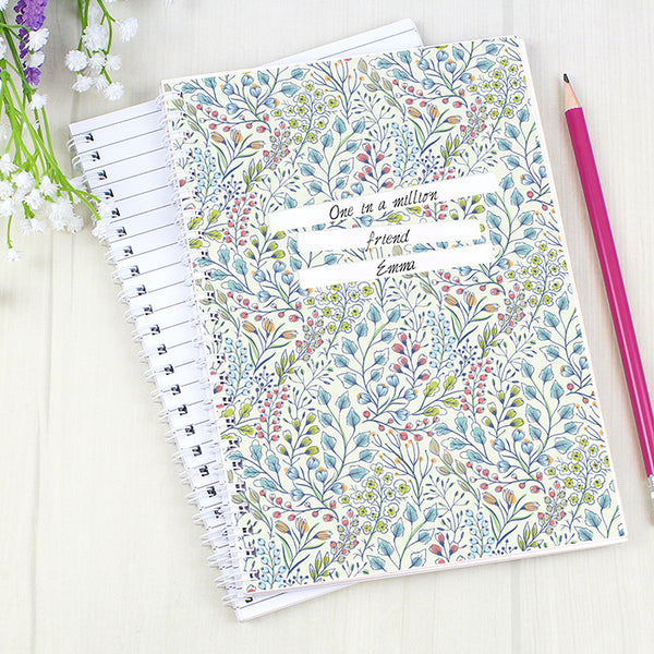 personalised-botanical-a5-notebook