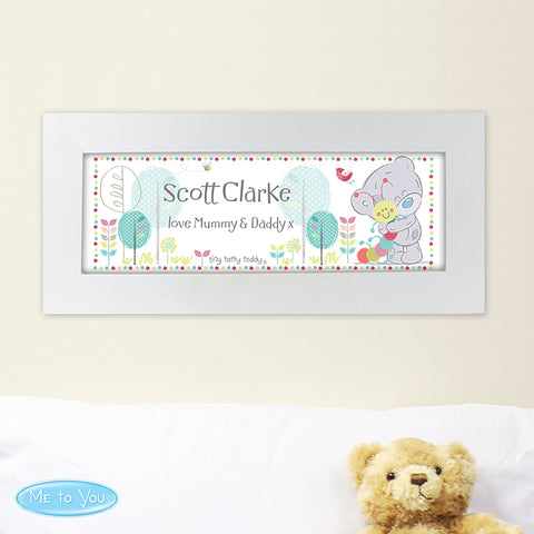 Buy Personalised Tiny Tatty Teddy Cuddle Bug Name Frame
