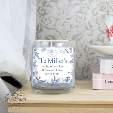 Buy Country Diary Blue Blossom Scented Jar Candle