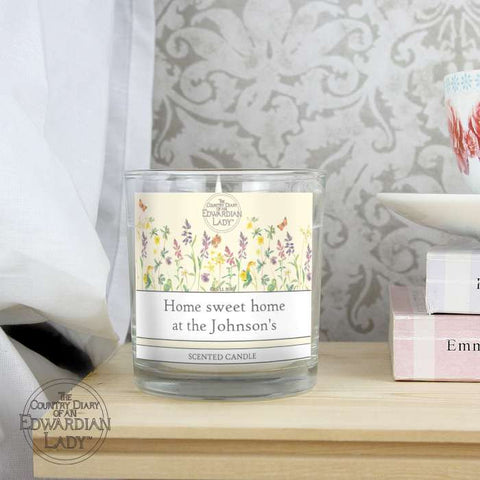 Buy Country Diary Wild Flowers Scented Jar Candle