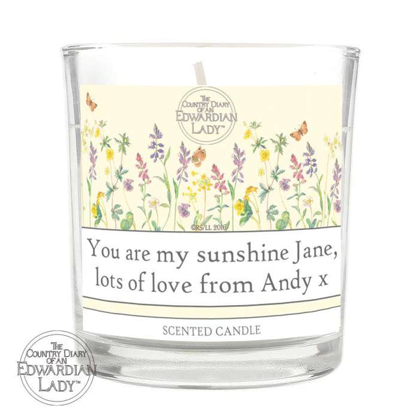 personalised-country-diary-wild-flowers-scented-jar-candle