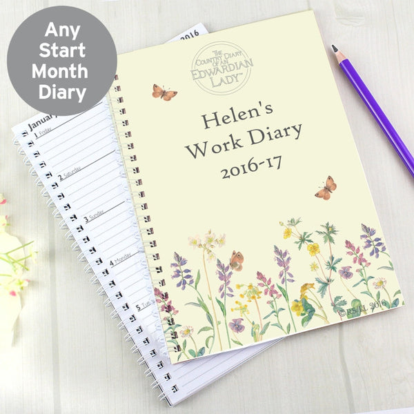 personalised-country-diary-wild-flowers-a5-diary