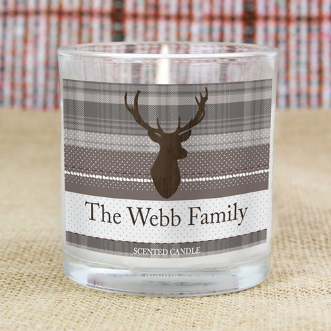 Highland Stag Scented Jar Candle