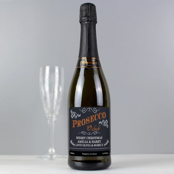 personalised-prosecco-oclock-bottle-of-prosecco