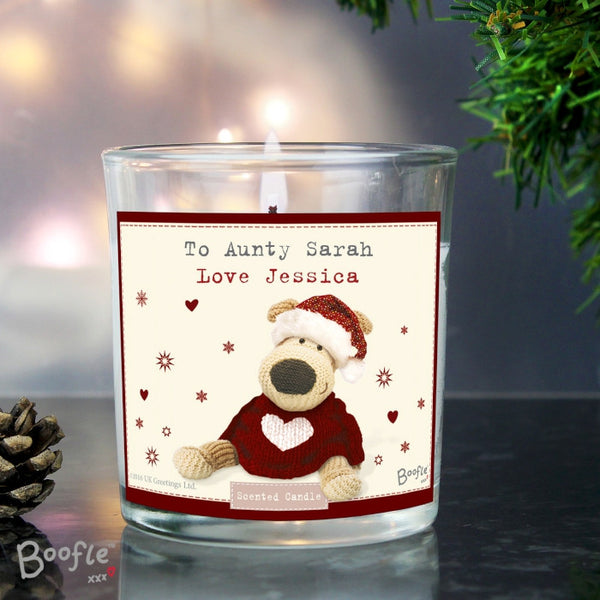 personalised-boofle-christmas-love-scented-jar-candle