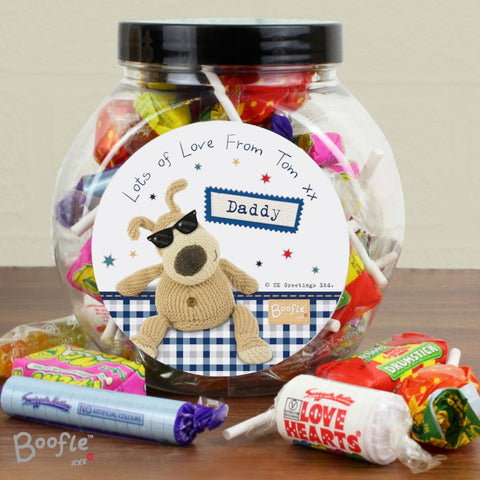 Buy Personalised Boofle Stars Sweet Jar