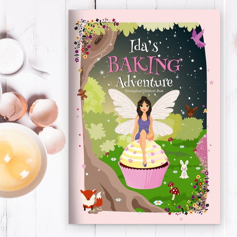 Buy Personalised Fairy Baking Adventure Book