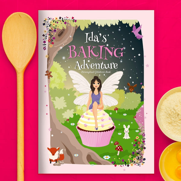 Personalised Fairy Baking Adventure Book - Shane Todd Gifts UK