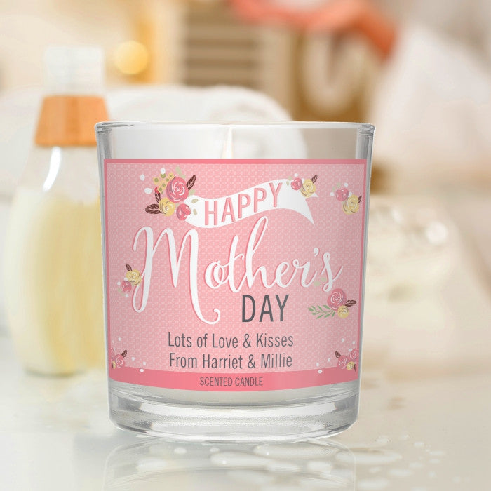 Buy Floral Bouquet Mother's Day Scented Jar Candle