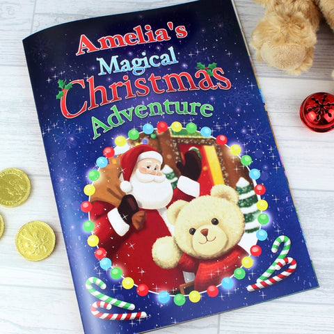 Personalised Magical Christmas Adventure Story Book | ShaneToddGifts.co.uk