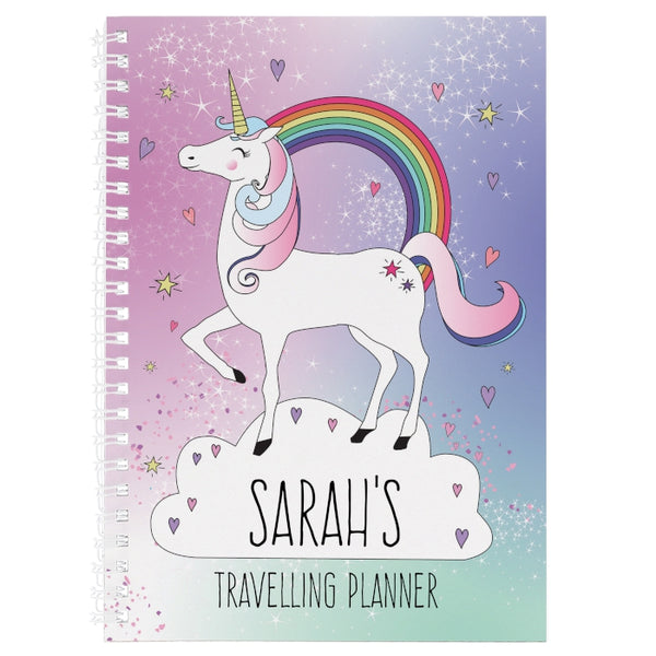 personalised-unicorn-a5-diary