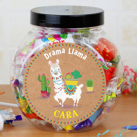 Buy Personalised Llama Sweet Jar