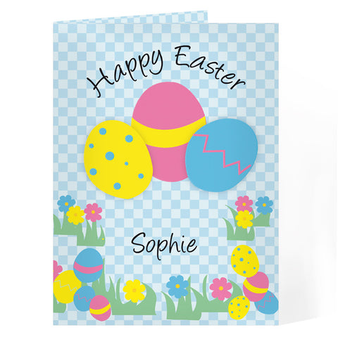 Personalised Happy Easter Egg Card - Shane Todd Gifts UK