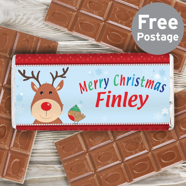 personalised-santa-milk-chocolate-bar