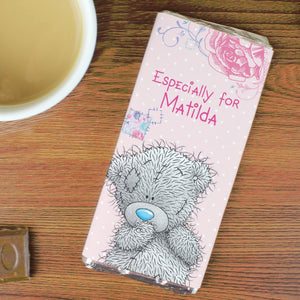 Personalised Me To You Girls Milk Chocolate Bar
