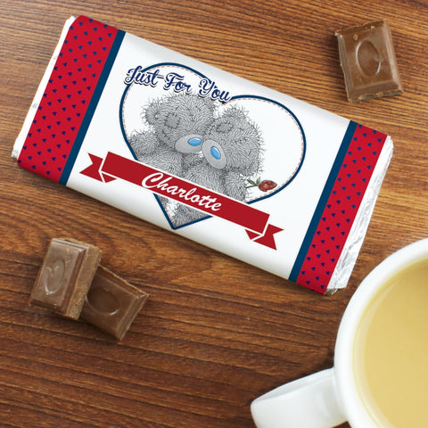 Personalised Me to You Couple Milk Chocolate Bar