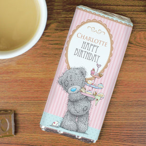 Personalised Me to You Cupcake Milk Chocolate Bar For Her