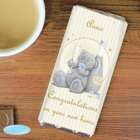 Buy Personalised Me To You Gold Stars Milk Chocolate Bar