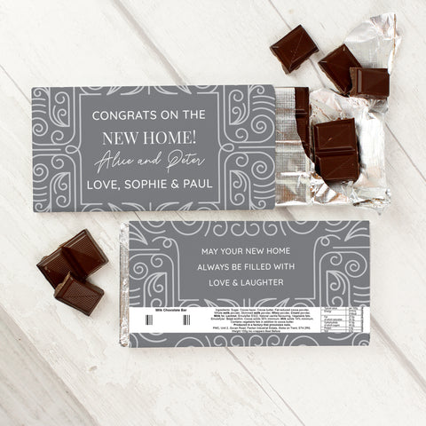 Personalised Congratulations Milk Chocolate Bar