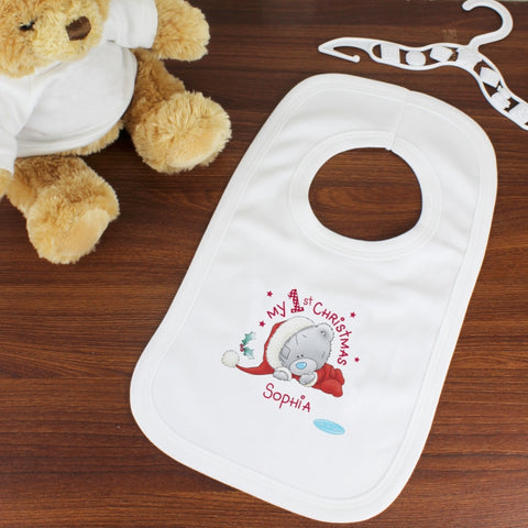 Personalised Me To You My 1st Christmas Bib | ShaneToddGifts.co.uk