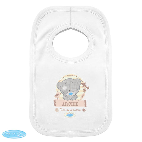 Buy Personalised Tiny Tatty Teddy Bib 0-3 Months