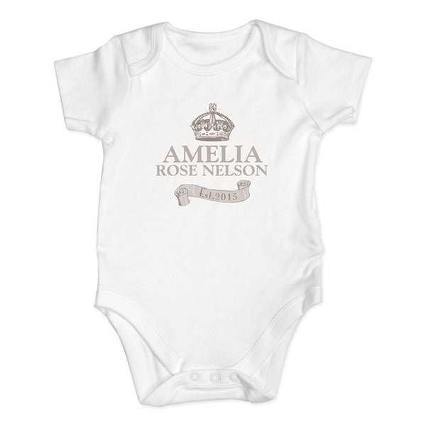 personalised-royal-crown-baby-vest