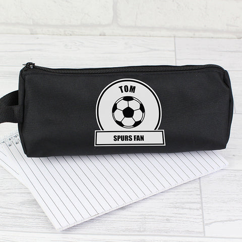Personalised Football Fan Pencil Case