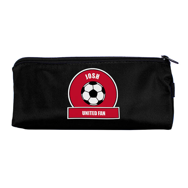 personalised-red-football-fan-pencil-case