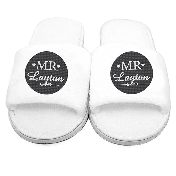 personalised-mr-velour-slippers