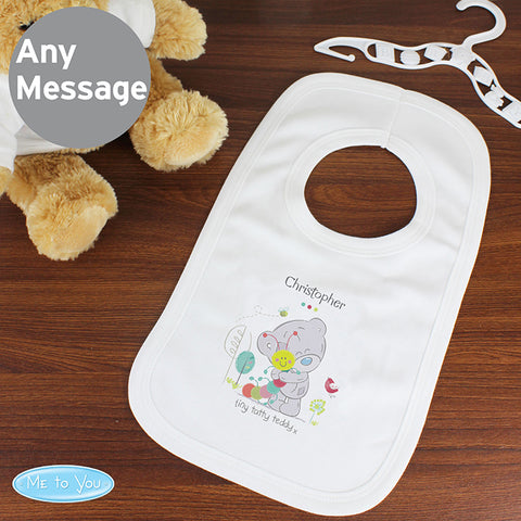 Buy Personalised Tiny Tatty Teddy Cuddle Bug 0-3 Months Baby Bib