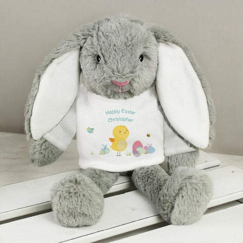 Personalised Easter T- Shirt Bunny
