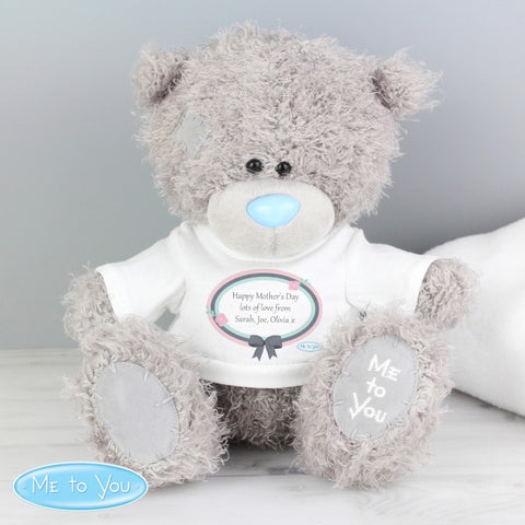 Personalised Me To You Pastel Belle Bear with T-Shirt - Shane Todd Gifts UK