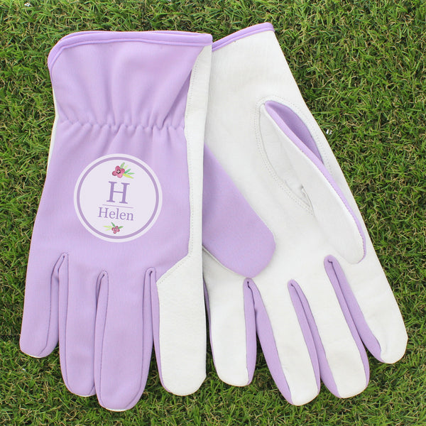 personalised-floral-bouquet-medium-lilac-gardening-gloves