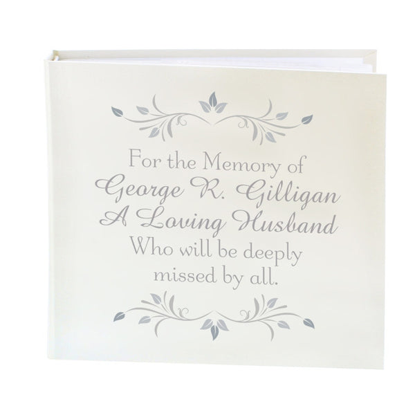 personalised-sentiments-album-with-sleeves
