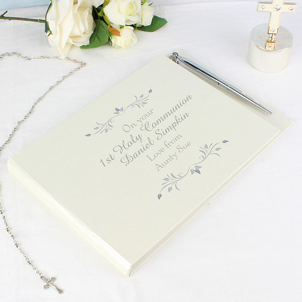 personalised-sentiments-guest-book-pen