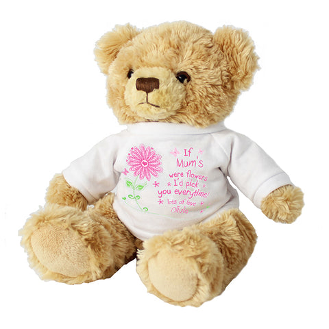 Buy Personalised Id Pick You Message Bear