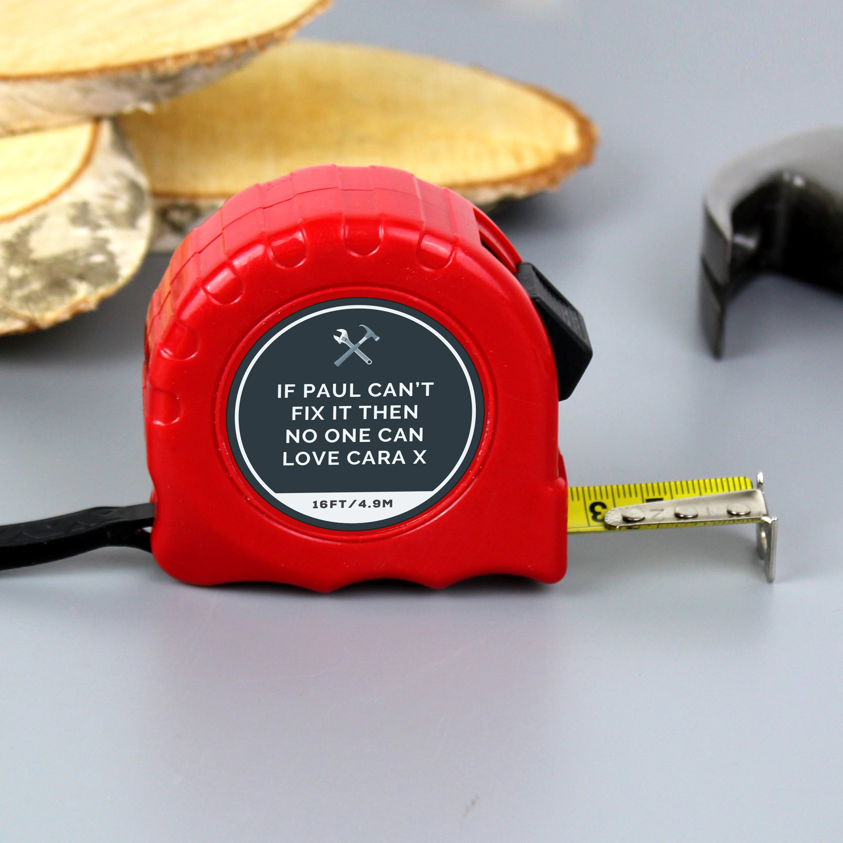 Personalised Tools Tape Measure, Gift Giving by Gifts24-7