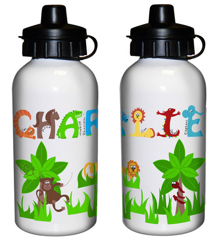 Buy Personalised Animal Alphabet Drinks Bottle