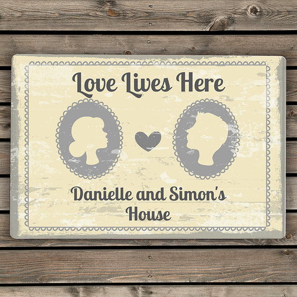 personalised-cameo-metal-sign
