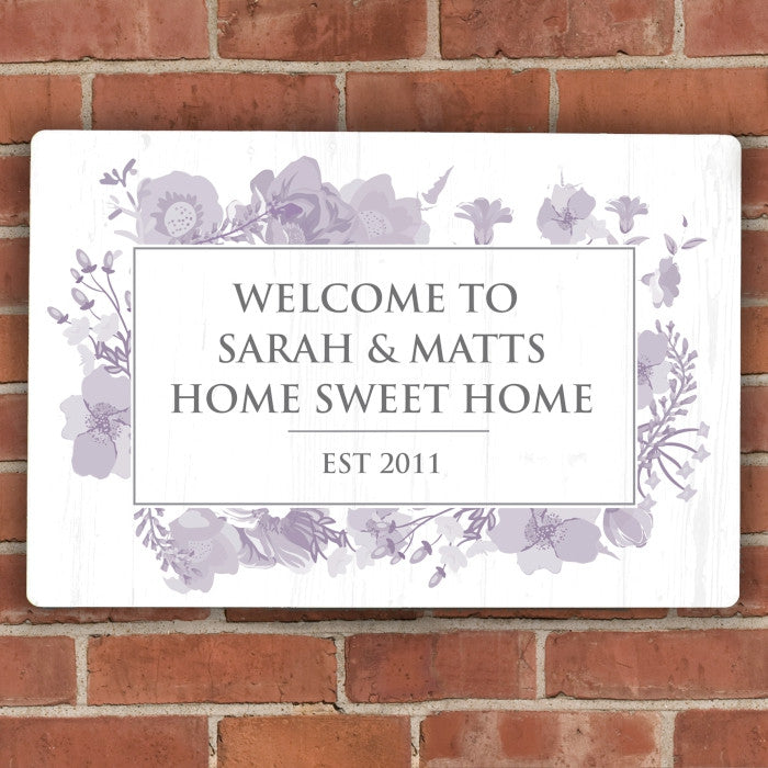 Personalised Soft Watercolour Metal Sign, Business & Industrial by Gifts24-7