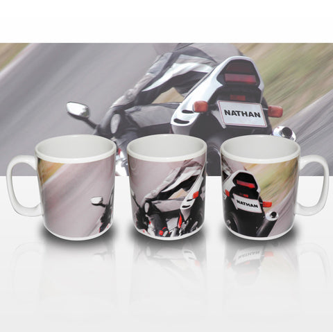 Buy Personalised Motorbike Mug