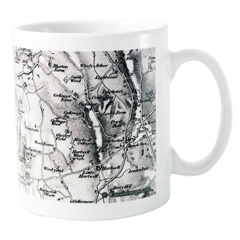 Personalised 1805 - 1874 Old Series Map Mug | ShaneToddGifts.co.uk