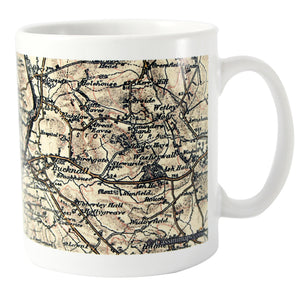 Personalised 1896 - 1904 Revised New Map Mug